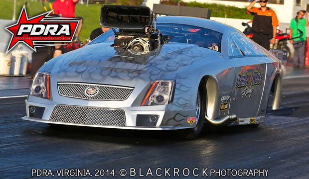 Stanley And Weiss Racing's New PDRA 2014 Cadillac CTSV Pro Extreme Pro Mod
