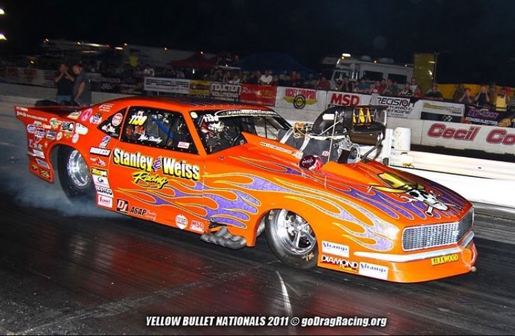 On To The Yellow Bullet Nationals, Da Orange Ho testing at The Bullet in 2011!
