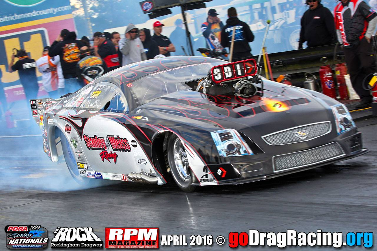 Stanley & Weiss Racing Cadillac CTSV Pro Mod Rockingham NC John Stanley Pro Extreme Launch
