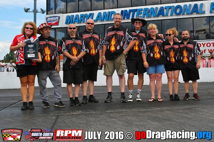 Team Stanley & Weiss Racing Win Best Apperaing Team In With Wicked Grafixx Custom Racing Shirts PDRA Thanks to the ladies for helping make us look good!