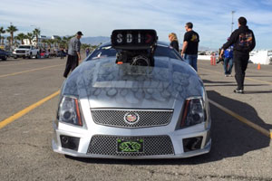 Awaiting the war! CTS-V Cadillac Pro Mod