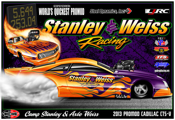 Stanley & Weiss Racing's 2014 Cadillac CTS-V Pro Modified Rendering by Wicked Grafixx