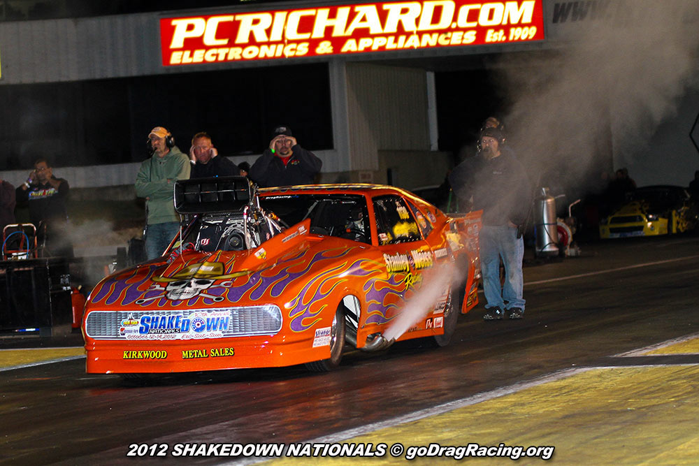 John Stanley On The Loud Pedal before his incredible Pro Mod Pass