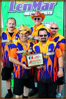 Stanley & Weiss Racing Awarded Best Appearing Team, ADRL Topeka Wearing WickedGrafixx