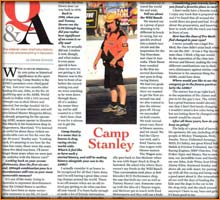 Drag Illustrated Article Featuring Camp Stanley