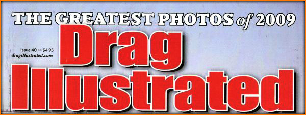 Stanley And Weiss Racing Pro Mod Camaro in Drag Illustrated Magazine Greatest Photos 2009