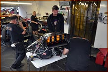 Marcus Hilt European Pro Modified Driver Over-see's The Pro Mod Engine Repairs And Camp Calls For More Money To No Avail