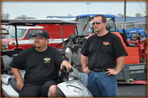 The Mickey Thompson Tires brain trust was in attendance at Tulsa and Houston