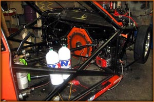 Nitrous Express Bottles Mounted