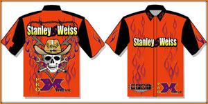 New Team Crew Shirts For Stanley And weiss Racing For 2010 By Stateline Apparel