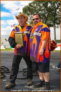 John Stanley and Father Camp Stanley Accept Awards At Shakedown